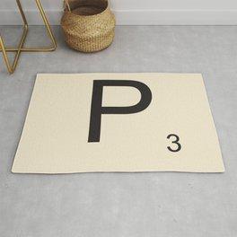 Scrabble P Rug