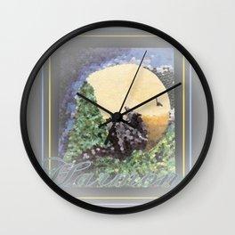 Harmony At Moonrise Wall Clock