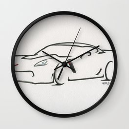 American Horsepower Wall Clock