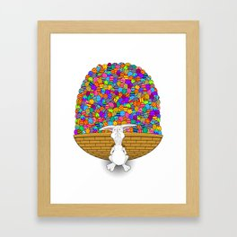 Easter Heavy Load - by Rui Guerreiro Framed Art Print