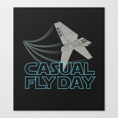 Casual Fly Day Canvas Print