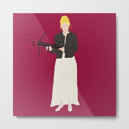 Prophecy Girl Metal Print