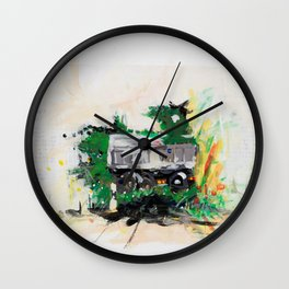 Accident two Wall Clock