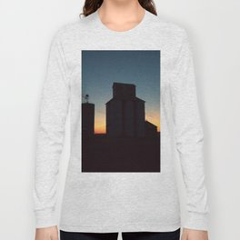 Silos at Sunrise Long Sleeve T-shirt
