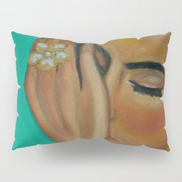 Anita - Golden Woman Pillow Sham