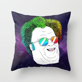 more like, Dr. Steve RULES Throw Pillow