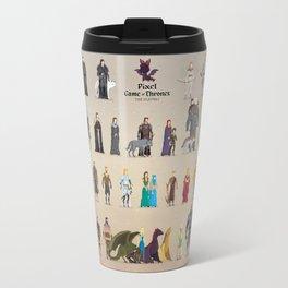 Game of Pixel Thrones Travel Mug