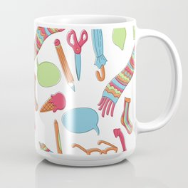 Quirky Pattern Coffee Mug