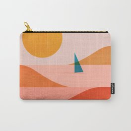 Abstraction_Sailing_Ocean_002 Carry-All Pouch