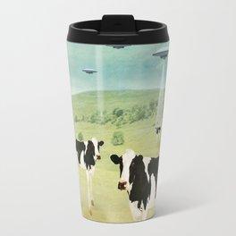 we all like burgers _ US AND THEM  Travel Mug