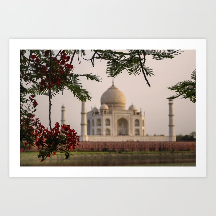 ArtWork Tag Mahal Agra India Photo Art Print