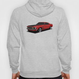 Mustang Boss Red Hoody
