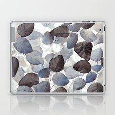 Blue Leaves Laptop & iPad Skin