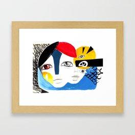 Multiplicidade 3 Framed Art Print