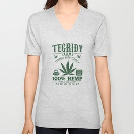 Tegridy Farms Unisex V-Neck