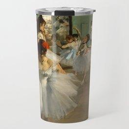 "Edgar Degas ""The dance class"" Travel Mug"