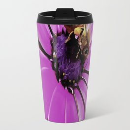 Honey Bee On A Spring Flower Travel Mug
