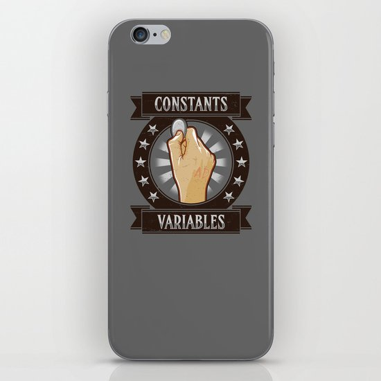 Constants & Variable iPhone & iPod Skin