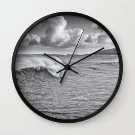 Fistral Swell Wall Clock