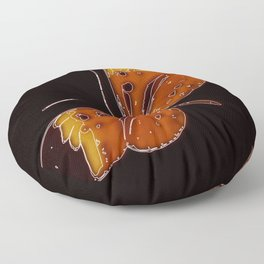 Untitled Butterfly 3 Floor Pillow
