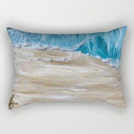 Parting of the Sea Rectangular Pillow