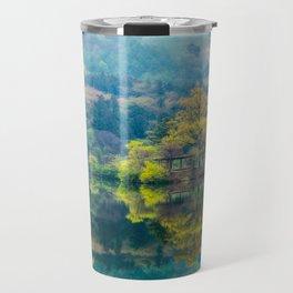 Reflections of Spring Travel Mug