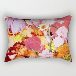 Bouquet Rectangular Pillow