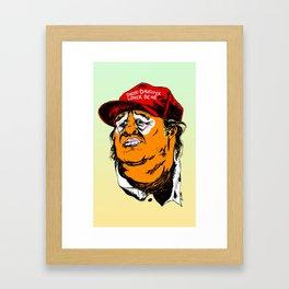 Daddy-Daughter Lover Bear Framed Art Print