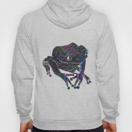 Psychedelic Giant Monkey Frog Hoody