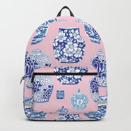 Chinoiserie Ginger Jar Collection No.7 Backpack