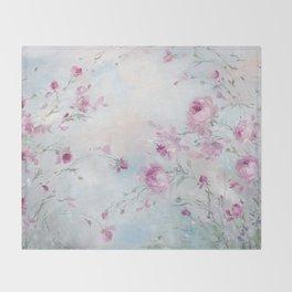 Rose Meadow Throw Blanket