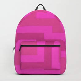 Think Pink Abstract Backpack