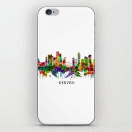 Denver Colorado Skyline iPhone Skin