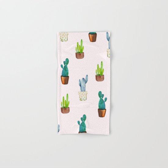 Cactus Formation #society6 #decor #buyart Hand & Bath Towel