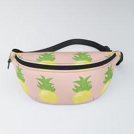 Abstract Pineapple Party - Peachy Fanny Pack
