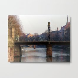 Bridge in Strasbourg Metal Print