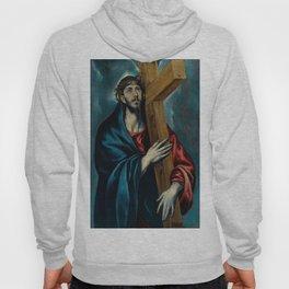 "El Greco (Domenikos Theotokopoulos) ""Christ Carrying the Cross (1590-1595)"" Hoody"