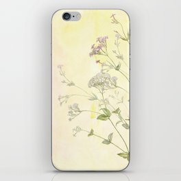 The air the flower breathes iPhone Skin