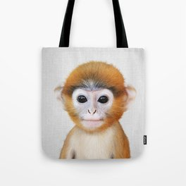 Baby Monkey - Colorful Tote Bag