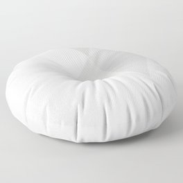 PURE WHITE POLY Floor Pillow