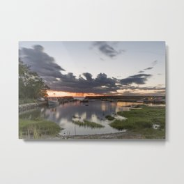 Summer Lanescove sunset Metal Print