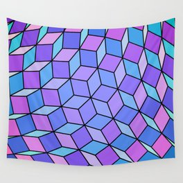 Cube Ball Fourty Two Wall Tapestry
