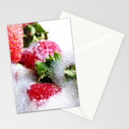 Strawberry Spores Stationery Cards