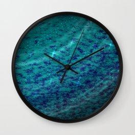 Crystal Lake Wall Clock