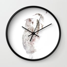 Fade-out Wall Clock