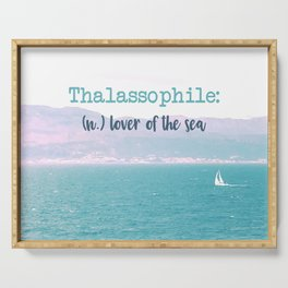 Thalassophile Serving Tray