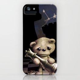Teddy Chess iPhone Case
