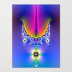 Floral Chandelier  Canvas Print