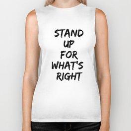 Stand Up Biker Tank