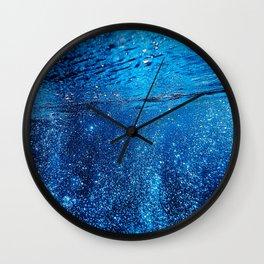 Below The Waves Wall Clock